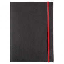 Anteckningsbok Oxford Black n' Red Soft 180x250 mm