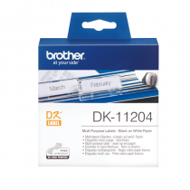 DK-etikett Brother Universaletiketter 17x54 mm